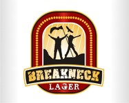 Breakneck Lager Logo - Entry #93