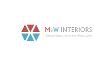 MvW Interiors Logo - Entry #45