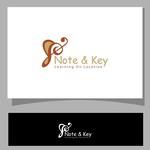 Note & Key Logo - Entry #18