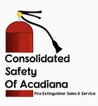 Consolidated Safety of Acadiana / Fire Extinguisher Sales & Service Logo - Entry #6