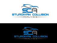 Sturdivan Collision Analyisis.  SCA Logo - Entry #195