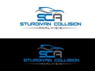 Sturdivan Collision Analyisis.  SCA Logo - Entry #195
