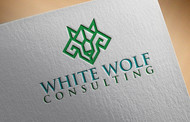 White Wolf Consulting (optional LLC) Logo - Entry #467