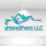 uHate2Paint LLC Logo - Entry #174