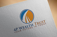 4P Wealth Trust Logo - Entry #327