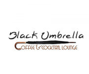 Black umbrella coffee & cocktail lounge Logo - Entry #90