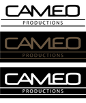 CAMEO PRODUCTIONS Logo - Entry #101