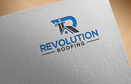 Revolution Roofing Logo - Entry #197