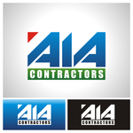 AIA CONTRACTORS Logo - Entry #124