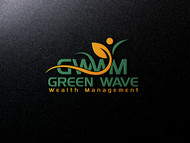 Green Wave Wealth Management Logo - Entry #92