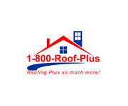 1-800-Roof-Plus Logo - Entry #8