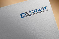 CA Coast Construction Logo - Entry #48