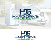 Hard drive garage Logo - Entry #9
