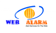 Logo for WebAlarms - Alert services on the web - Entry #98