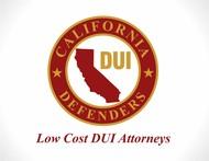 California DUI Defenders Logo - Entry #44