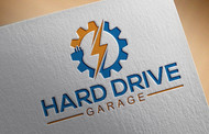Hard drive garage Logo - Entry #148