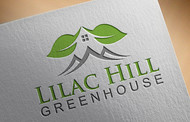Lilac Hill Greenhouse Logo - Entry #44