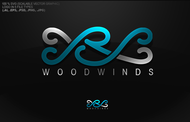 Woodwind repair business logo: R S Woodwinds, llc - Entry #107