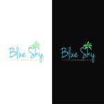 Blue Sky Life Plans Logo - Entry #163