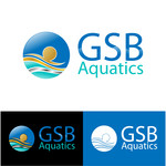 GSB Aquatics Logo - Entry #81