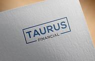 "Taurus Financial (or just ""Taurus"") Logo - Entry #170"