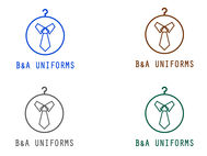 B&A Uniforms Logo - Entry #77