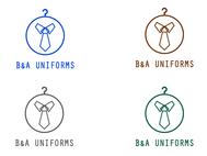 B&A Uniforms Logo - Entry #77
