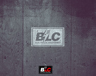BLC Electrical Solutions Logo - Entry #387