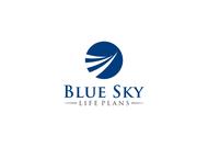 Blue Sky Life Plans Logo - Entry #158