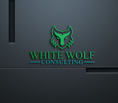 White Wolf Consulting (optional LLC) Logo - Entry #488