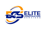 Elite Construction Services or ECS Logo - Entry #149