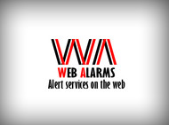 Logo for WebAlarms - Alert services on the web - Entry #23