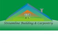 STREAMLINE building & carpentry Logo - Entry #55