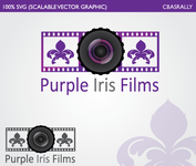 Purple Iris Films Logo - Entry #18