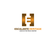 Escalante Heritage/ Hole in the Rock Center Logo - Entry #35