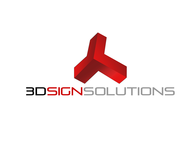 3D Sign Solutions Logo - Entry #10