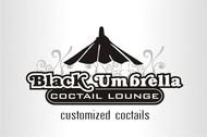 Black umbrella coffee & cocktail lounge Logo - Entry #147