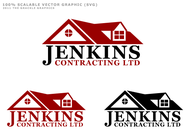 Jenkins Contracting LTD Logo - Entry #40