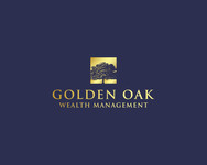 Golden Oak Wealth Management Logo - Entry #107