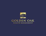 Golden Oak Wealth Management Logo - Entry #107