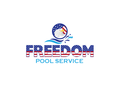 Freedom Pool Service Logo - Entry #128