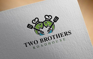 Two Brothers Roadhouse Logo - Entry #88