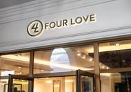 Four love Logo - Entry #162