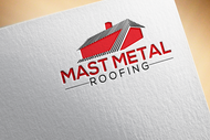 Mast Metal Roofing Logo - Entry #135