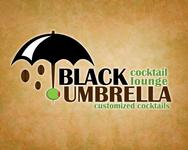 Black umbrella coffee & cocktail lounge Logo - Entry #171