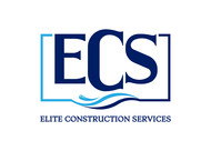 Elite Construction Services or ECS Logo - Entry #128