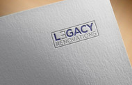 LEGACY RENOVATIONS Logo - Entry #158