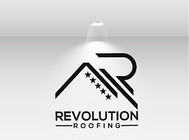 Revolution Roofing Logo - Entry #229