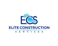 Elite Construction Services or ECS Logo - Entry #224