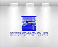 Sapphire Shades and Shutters Logo - Entry #90